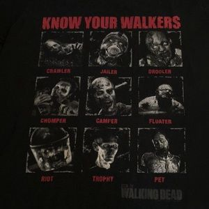 Vintage tee shirt Know your walkers